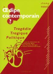 Oedipe contemporain - Couverture - Format classique
