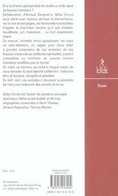 Manuel De L Anti Sagesse Traite De L Echec S - 4ème de couverture - Format classique
