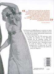 La Mode Du Xixe Siecle En Images - 4ème de couverture - Format classique