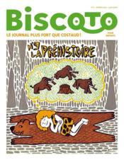 Journal Biscoto N.9 ; La Préhistoire - Couverture - Format classique