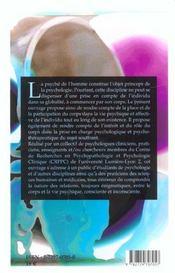 Cliniques Du Corps - 4ème de couverture - Format classique