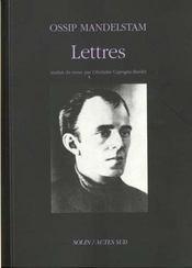 Lettres - Intérieur - Format classique