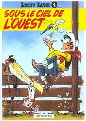 Lucky Luke t.4 ; sous le ciel de l'ouest - Intérieur - Format classique