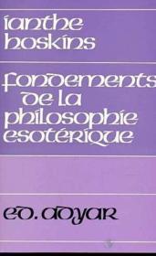 Fondements de la philosophie esoterique - Couverture - Format classique