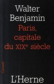 Paris, capitale du XIX siècle - Intérieur - Format classique