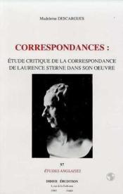 Correspondances : Etude Critique De La C - Couverture - Format classique