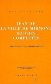 Oeuvres Completes - Couverture - Format classique