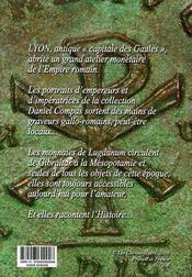 Lyon ; monnaies romaines - 4ème de couverture - Format classique