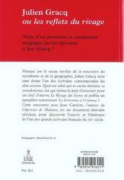 Julien Gracq ; Les Reflets Du Rivage - 4ème de couverture - Format classique