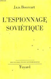 L'Espionnage Sovietique. - Couverture - Format classique