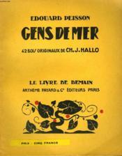 Gens De Mer. 42 Bois Originaux De Ch. J. Hallo. Le Livre De Demain N° 159. - Couverture - Format classique