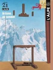 L'Alpe N.21 ; Artistes Au Sommet - Couverture - Format classique