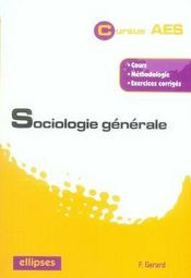 Sociologie générale - Intérieur - Format classique