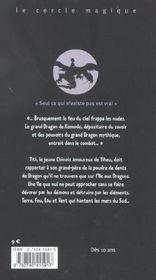 L'Écaille Du Dragon - 4ème de couverture - Format classique