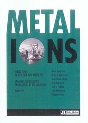 Metal Ions In Biology And Medecine Volume 8. Les Ions Metalliques En Biologie - Intérieur - Format classique