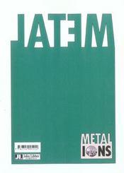 Metal Ions In Biology And Medecine Volume 8. Les Ions Metalliques En Biologie - 4ème de couverture - Format classique