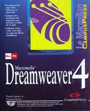 Le Macmillan Dreamweaver 4 - Intérieur - Format classique