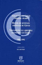 Recueil des sentences arbitrales du Cepani - Couverture - Format classique