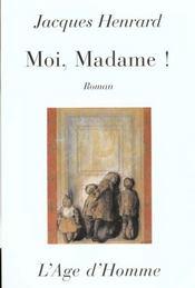 Moi Madame - Intérieur - Format classique