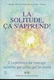 La Solitude Ca S'Apprend ! - Couverture - Format classique