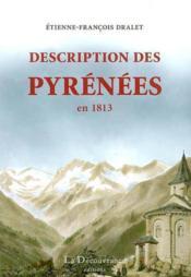 Description des Pyrénées en 1813 - Couverture - Format classique