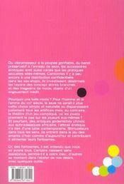 Sex Toys - 4ème de couverture - Format classique