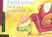 Petit Heros Fait Ses Premiers Pas - Intérieur - Format classique