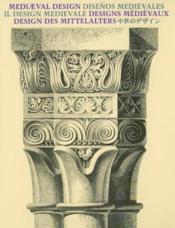 Design medievaux - Couverture - Format classique