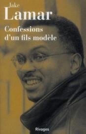 Confessions d'un fils modèle - Couverture - Format classique