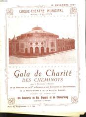 Gala De Charite Des Cheminots - Programme - Couverture - Format classique