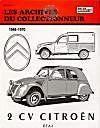 Citroen 2cv (1948/1970) N 38 - Couverture - Format classique