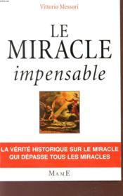 Le Miracle Impensable - Couverture - Format classique