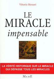 Le Miracle Impensable - Intérieur - Format classique