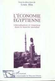 L'Economie Egyptienne - Intérieur - Format classique