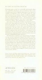 Dans Le Scriptorium - 4ème de couverture - Format classique