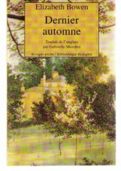 Dernier Automne - Couverture - Format classique