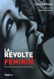 La révolte au féminin ; portraits de femmes exemplaires - Intérieur - Format classique