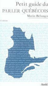 Petit guide du parler quebecois - Intérieur - Format classique