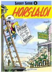 Lucky Luke t.6 ; hors-la-loi - Intérieur - Format classique