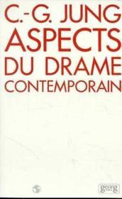 Aspects du drame contemporains - Couverture - Format classique