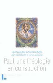 Paul, Une Theologie En Construction - Intérieur - Format classique