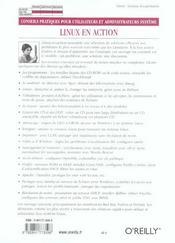 Linux En Action - 4ème de couverture - Format classique
