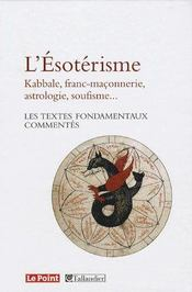 L'ésotérisme - Intérieur - Format classique