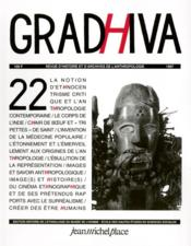 Cahier De Gradhiva T.22 - Couverture - Format classique