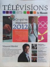 Television Le Monde du 02/01/2012 - Couverture - Format classique