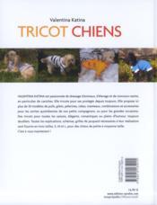 Tricot chiens - 4ème de couverture - Format classique