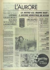 Aurore (L') N°8924 du 11/05/1973 - Couverture - Format classique