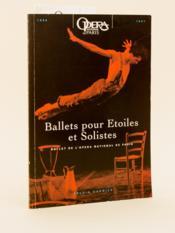 Ballets pour Etoiles et Solistes. Ballet de l'Opéra National de Paris [ 1996-1997 ]. - Couverture - Format classique
