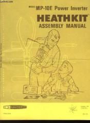Assembly And Operation Of The Power Inverter Model Pr-10e - Couverture - Format classique