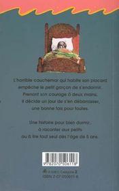 Il Y A Un Cauchemar Dans Mon Placard - 4ème de couverture - Format classique